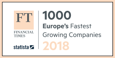1000 Europe's Fastest Growing Companies - 2018