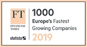 1000 Europe's Fastest Growing Companies - 2019